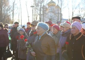 Траурный митинг, посвященный Дню памяти жертв политических репрессий