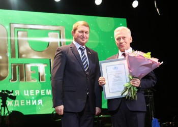 60-летие Череповецкого фанерно-мебельного комбината