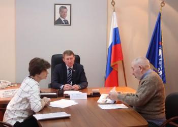 Приемы граждан в Череповце, Вологде и Устье