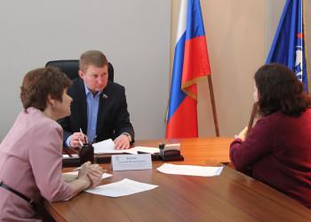 Приемы граждан: Череповец, Бабаево, Вологда